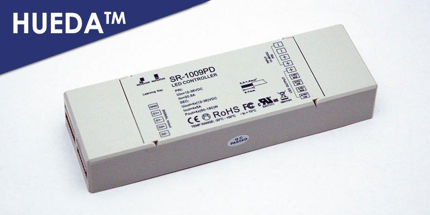 Dmx Touch Panel Rgb Rgbw Led Controller Hueda