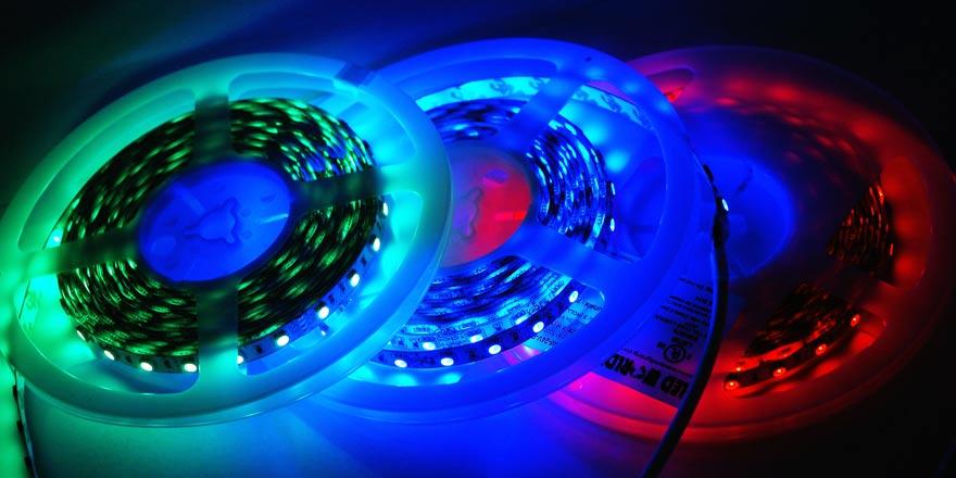 Rgb Led Tape Light Fa60m50 Xm 24v Rgb Hueda Led