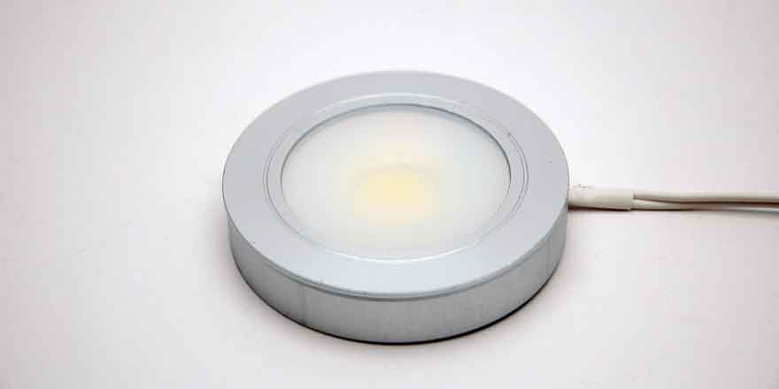 Led puck light recessedsurface mounted hueda led led puck light recessedsurface mounted aloadofball Images