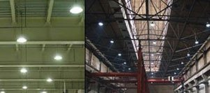 LED Industrial & Commercial Lighting